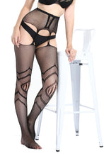 Load image into Gallery viewer, Suspender Tights T-8333