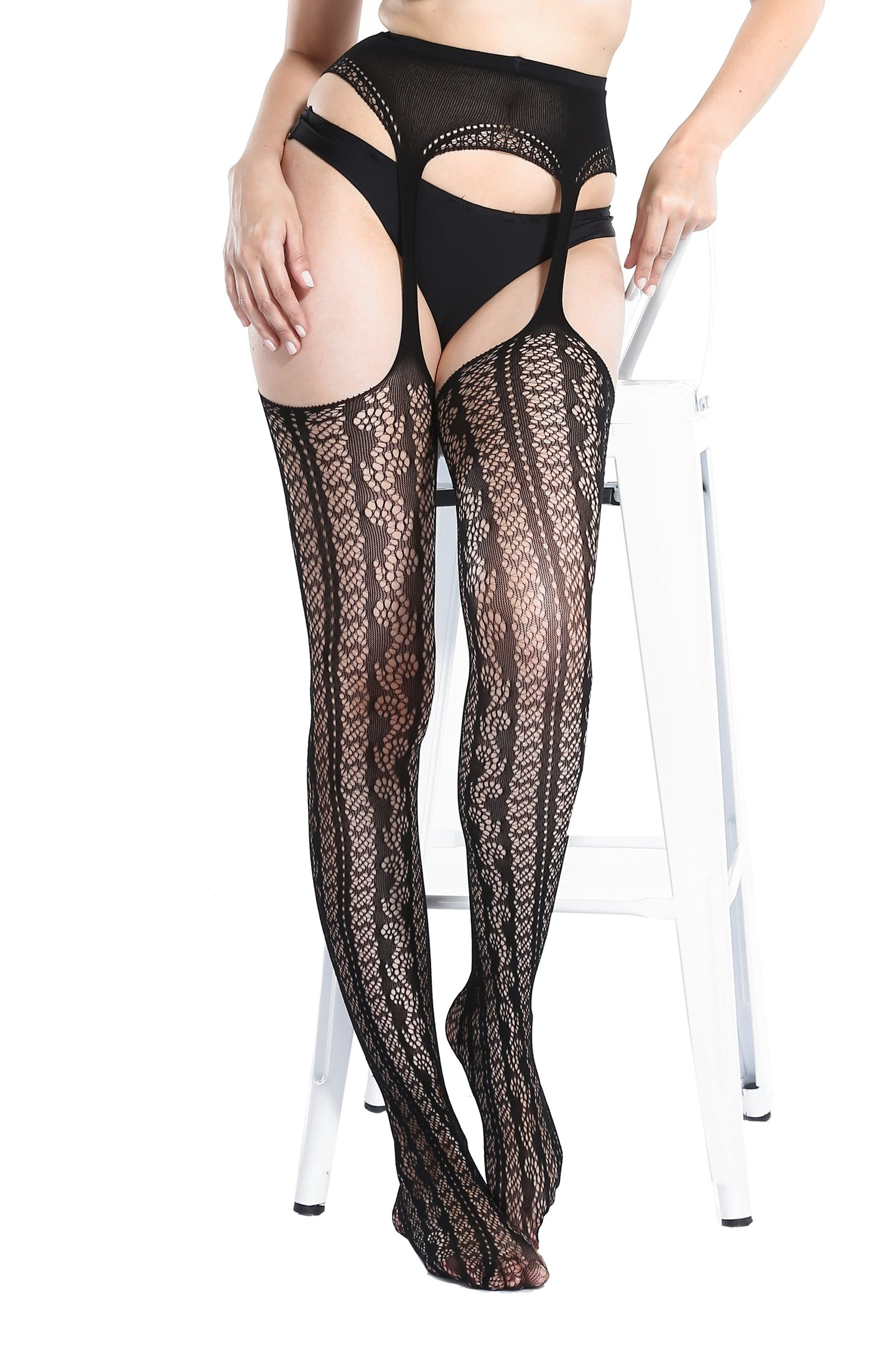 Suspender Tights T-8334