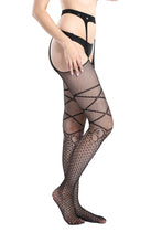 Load image into Gallery viewer, Suspender Tights T-8336