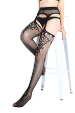 Load image into Gallery viewer, Suspender Tights T-8337