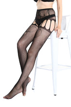 Load image into Gallery viewer, Suspender Tights T-8338