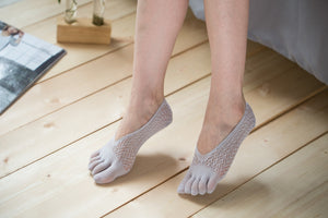 Low Cut Stockings W-1512-Gray