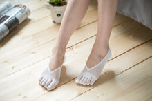 Load image into Gallery viewer, Low Cut Stockings W-1513-White