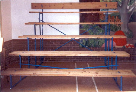 Seating Stands - Galv.Frame - Cca Timber