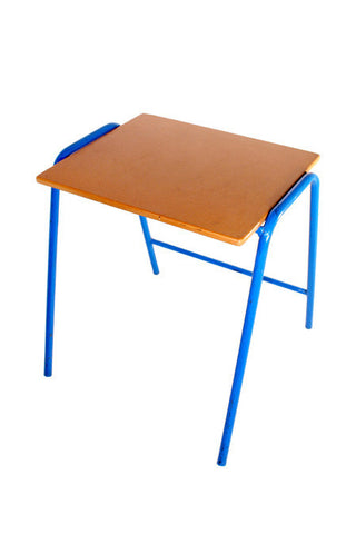 Exam Desk A Triangle Frame Stack. Supa Wood