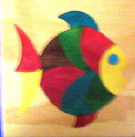 Fish 190*190*6Mm - Wooden
