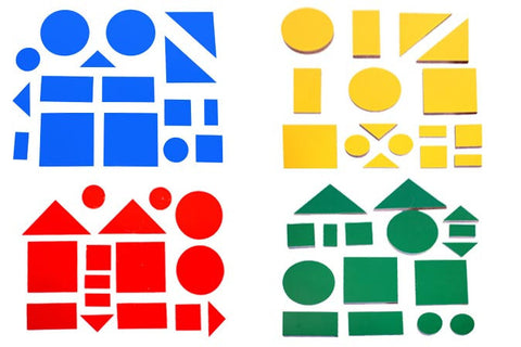 Attribute Shapes - Colours