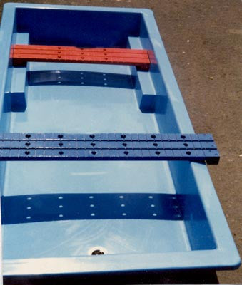 "Water Trough ""D"" & Water Boards"