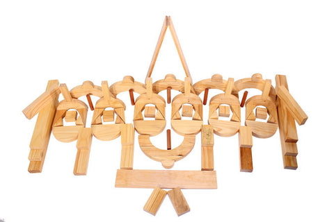 Educational Blocks - Half Set