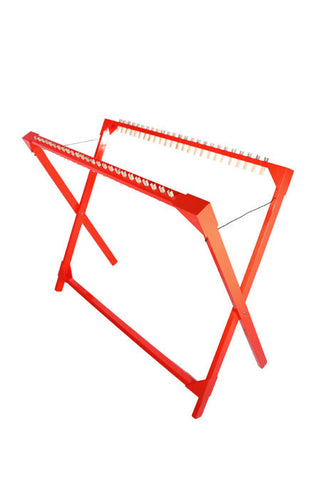 Drying Rack 25 Pegs Replaceable - Red