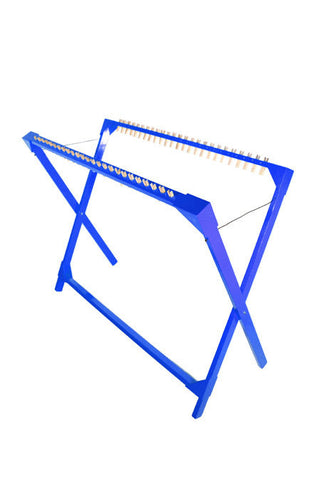 Drying Rack 25 Pegs Replaceable - Blue