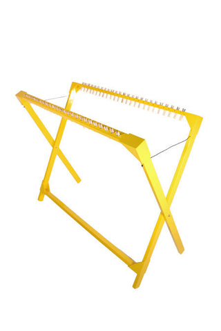 Drying Rack 25 Pegs Replaceable - Yellow
