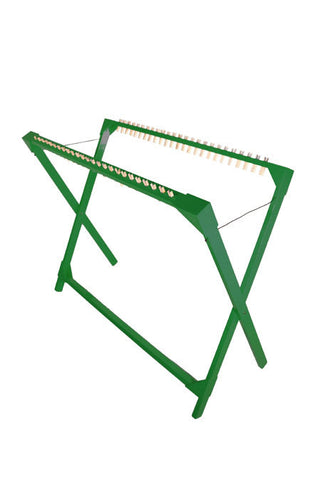 Drying Rack 25 Pegs Replaceable - Green
