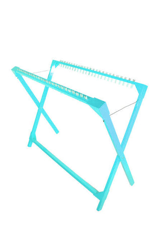 Drying Rack 25 Pegs Replaceable - Turquoise