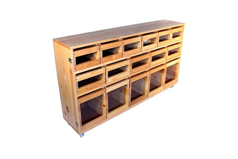 Anti-Waste Cupboard 1.5Mm 32 Remov. Drawers