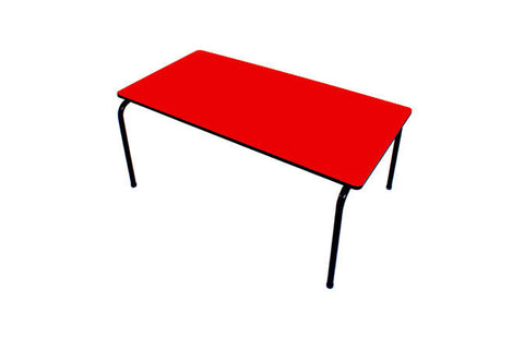 Formica Table - Stackable - Red