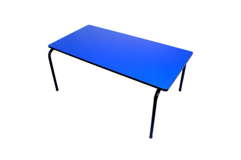 Formica Table - Stackable - Blue