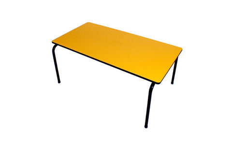 Formica Table - Stackable - Yellow