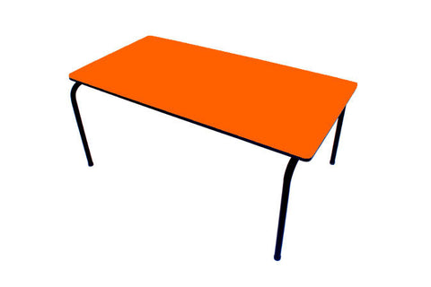 Formica Table - Stackable - Orange