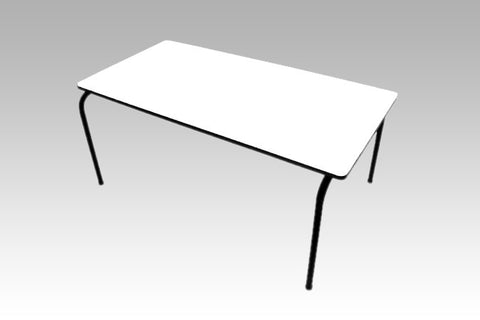 Formica Table - Stackable - White