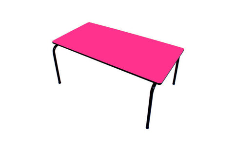 Formica Table - Stackable - Pink