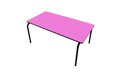 Formica Table - Stackable - Mauve