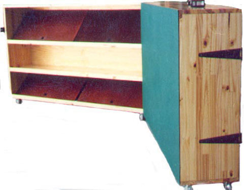 Folding Puzzle Cupboard - Remov. Plates