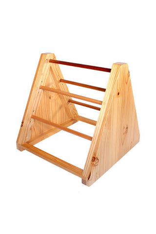 Wooden Triangular Beam Support