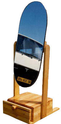 Chevell Mirror With Mirror Glass