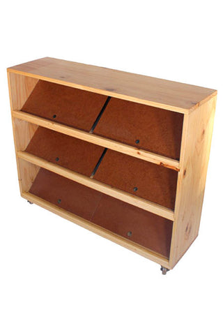 Mini Puzzle/Book Case W/Remov.Plates