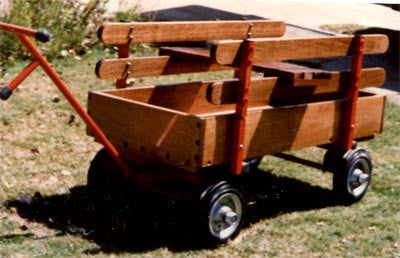 Hay Wagon - Deluxe - Meranti - Red