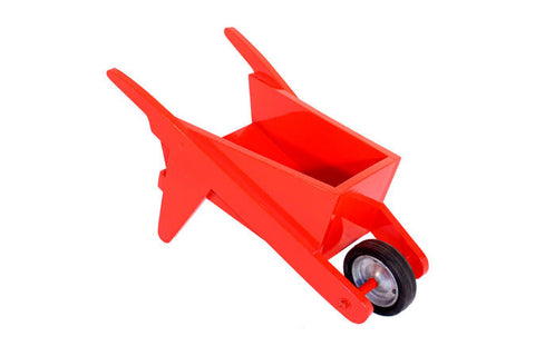 Wheel Barrow - Wooden - Red