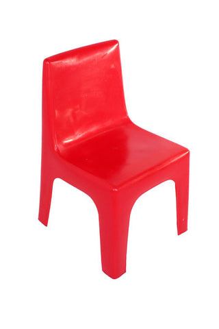 Child'S Chair - Red