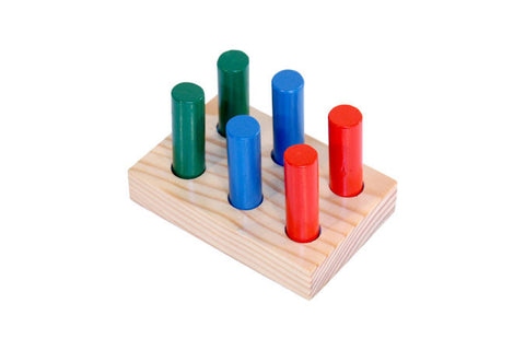Log & Tray Puzzle - 6 Unit