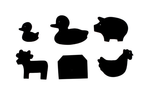 Farm Animals: Cow, Duck, Barn, Pig, Chicken, Duckl