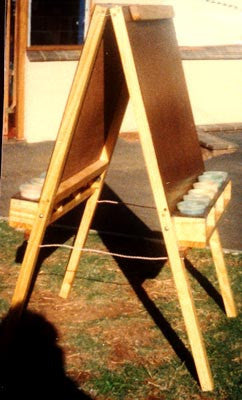 Paint Easel 2-Bay