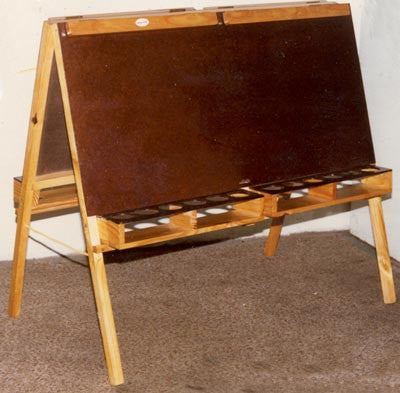 Paint Easel 4 Bay