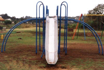 Installation Of Pole Arch Slide - P & G