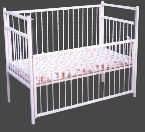 Metal Cot - Matt: 1200X600X75 Nylon Cover