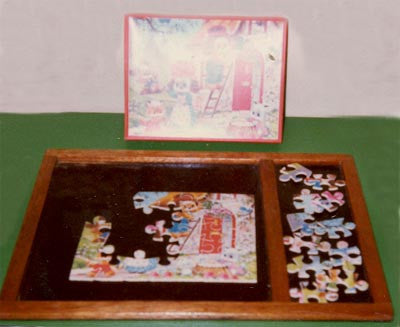 Puzzle Tray With Division