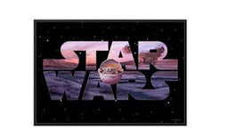 STAR WARS THE MANDALORIAN LOGO WOOD WALL