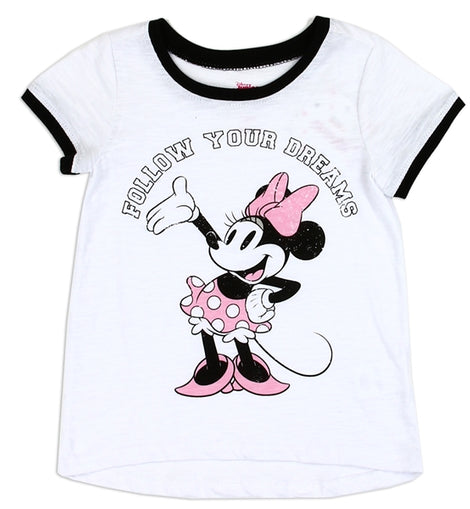 MINNIE MOUSE GIRLS TODDLER T-SHIRT