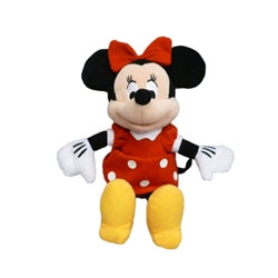 "11"" RED MINNIE PLUSH"