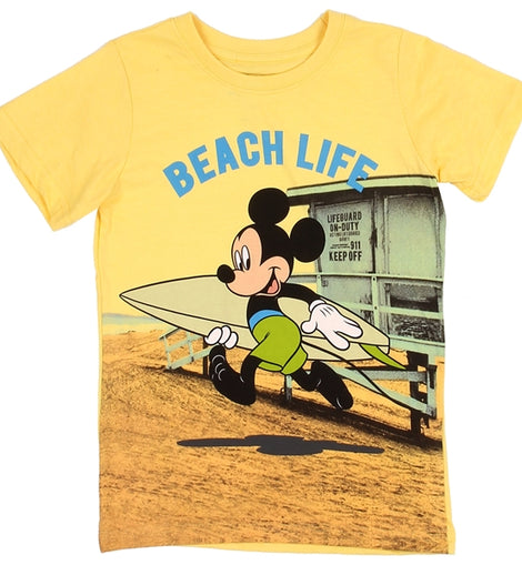 MICKEY MOUSE BOYS TODDLER T-SHIRT