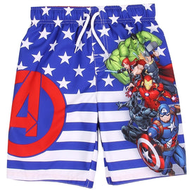 AVENGERS BOYS SWIM SHORTS