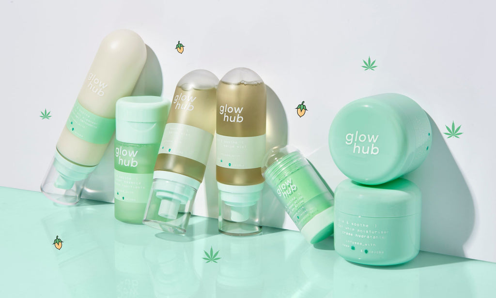 glow hub calm and soothe range