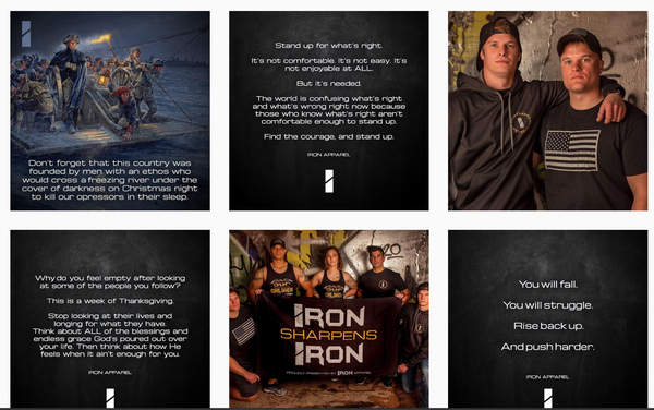 Iron Apparel instagram