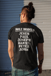 All My Role Models Went to Prison T-shirt | Black