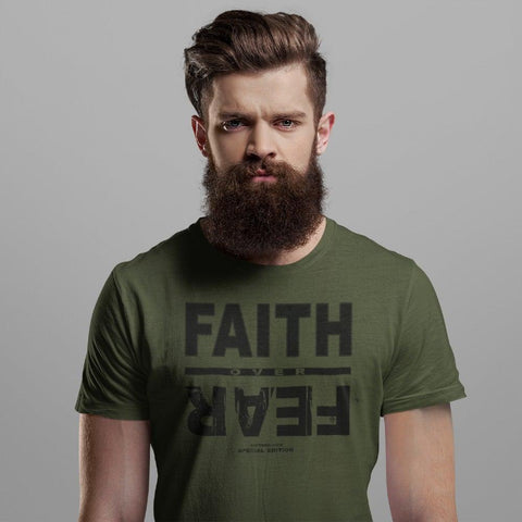 Faith Over Fear -  Special Edition T-shirt