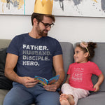 Father Husband Disciple T-Shirt